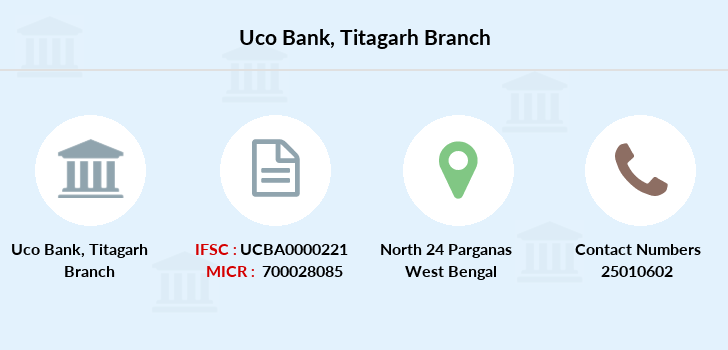 Uco-bank Titagarh branch