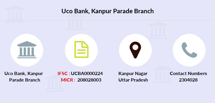 Uco-bank Kanpur-parade branch