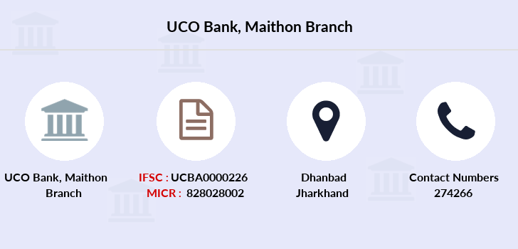 Uco-bank Maithon branch