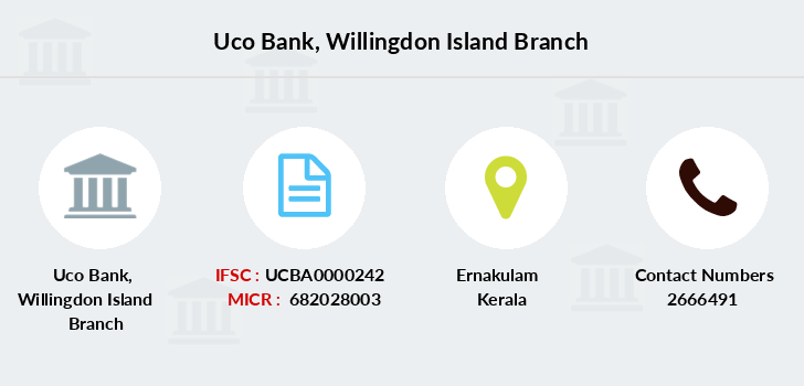 Uco-bank Willingdon-island branch