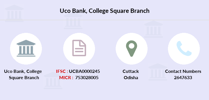 Uco-bank College-square branch