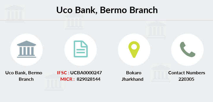 Uco-bank Bermo branch