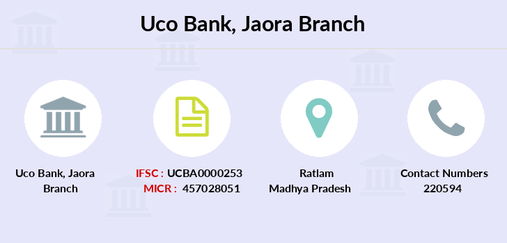 Uco-bank Jaora branch