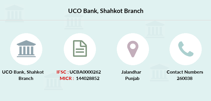 Uco-bank Shahkot branch