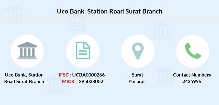 Uco-bank Station-road-surat branch