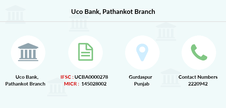 Uco-bank Pathankot branch