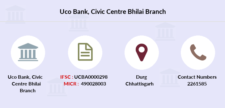 Uco-bank Civic-centre-bhilai branch