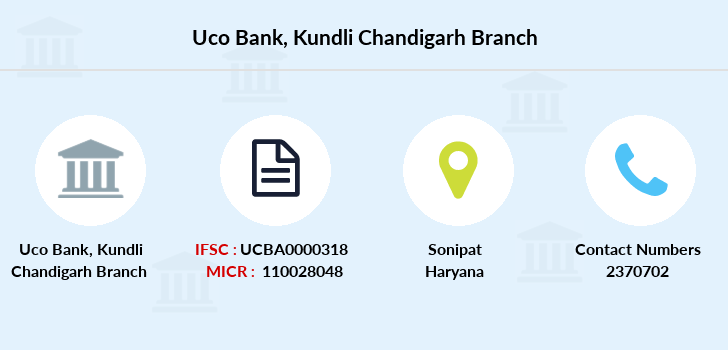 Uco-bank Kundli-chandigarh branch