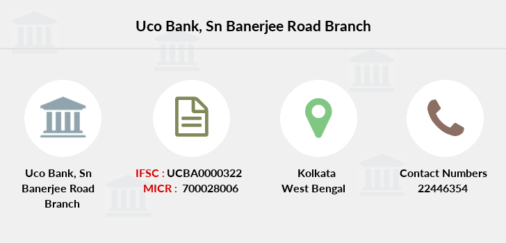 Uco-bank Sn-banerjee-road branch