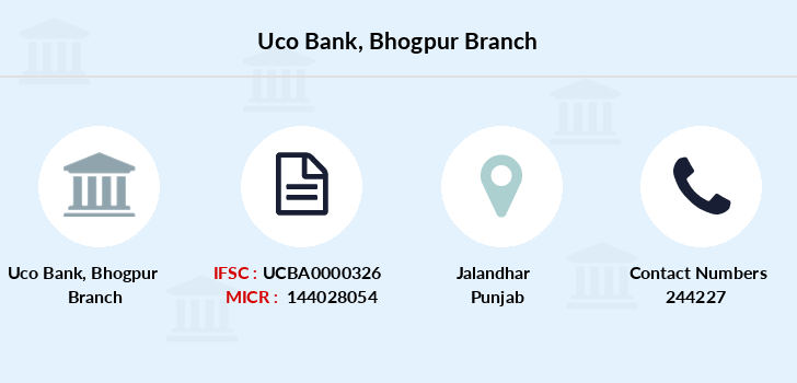 Uco-bank Bhogpur branch