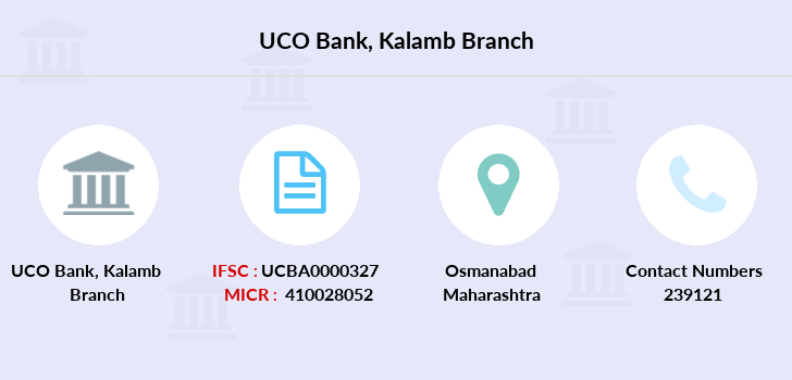 Uco-bank Kalamb branch