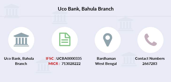 Uco-bank Bahula branch