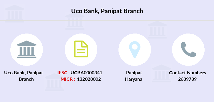 Uco-bank Panipat branch