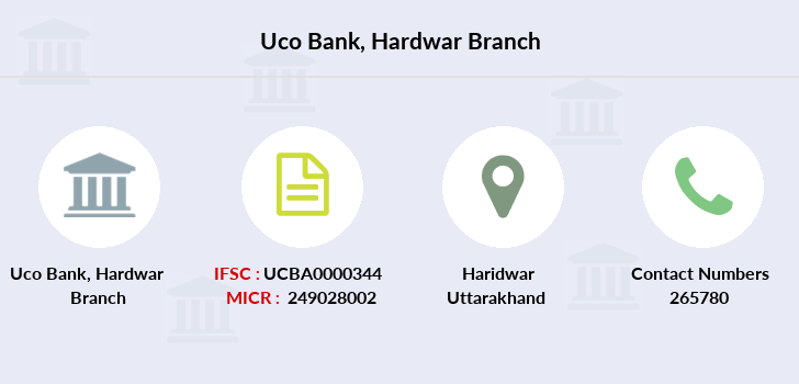 Uco-bank Hardwar branch