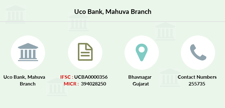 Uco-bank Mahuva branch