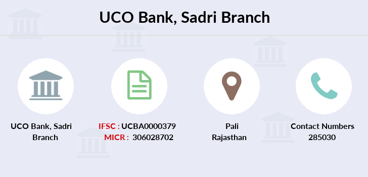 Uco-bank Sadri branch