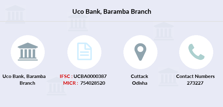 Uco-bank Baramba branch