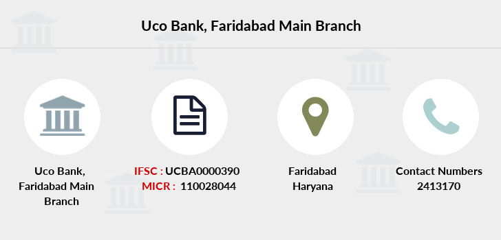 Uco-bank Faridabad-main branch