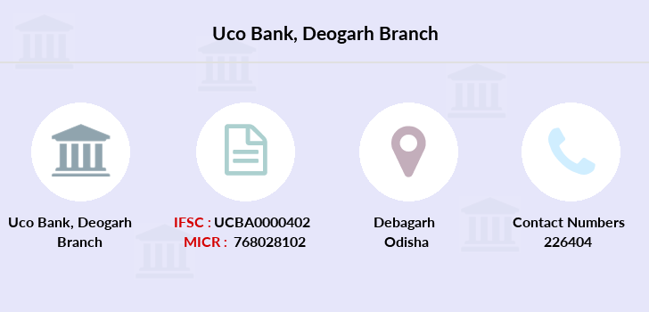 Uco-bank Deogarh branch