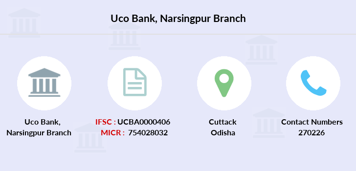 Uco-bank Narsingpur branch
