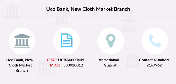Uco-bank New-cloth-market branch