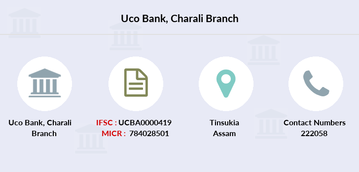 Uco-bank Charali branch
