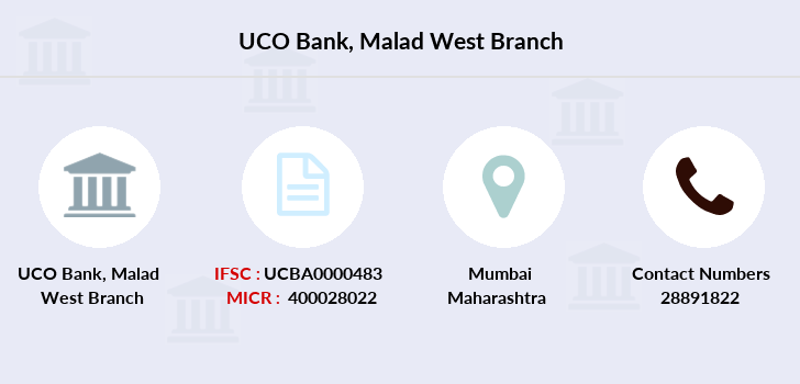 Uco-bank Malad-west branch