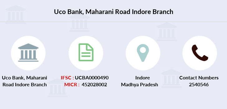 Uco-bank Maharani-road-indore branch