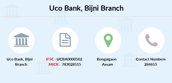 Uco-bank Bijni branch