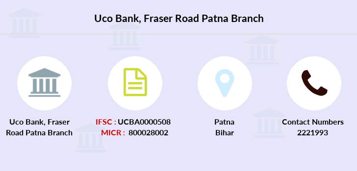 Uco-bank Fraser-road-patna branch