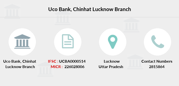 Uco-bank Chinhat-lucknow branch