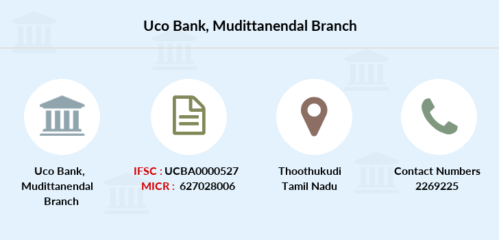 Uco-bank Mudittanendal branch