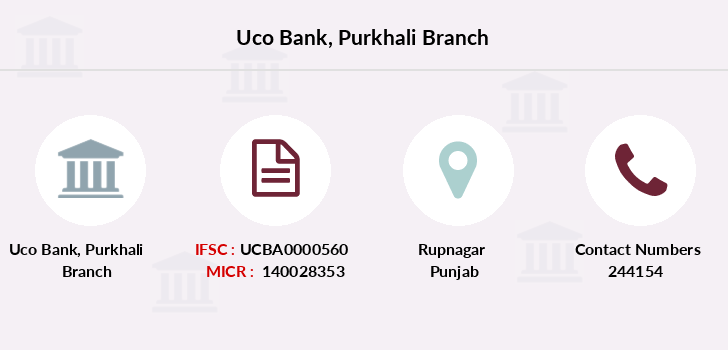 Uco-bank Purkhali branch