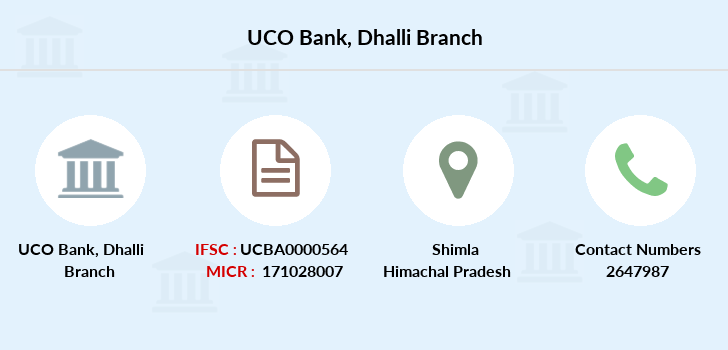 Uco-bank Dhalli branch