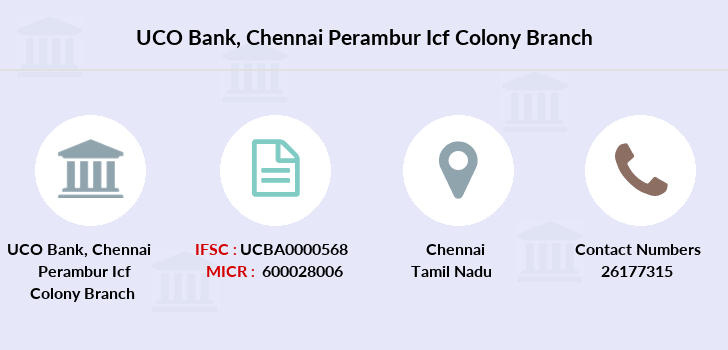 Uco-bank Chennai-perambur-icf-colony branch