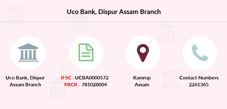 Uco-bank Dispur-assam branch