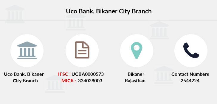 Uco-bank Bikaner-city branch