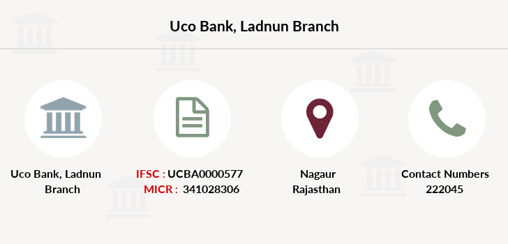 Uco-bank Ladnun branch