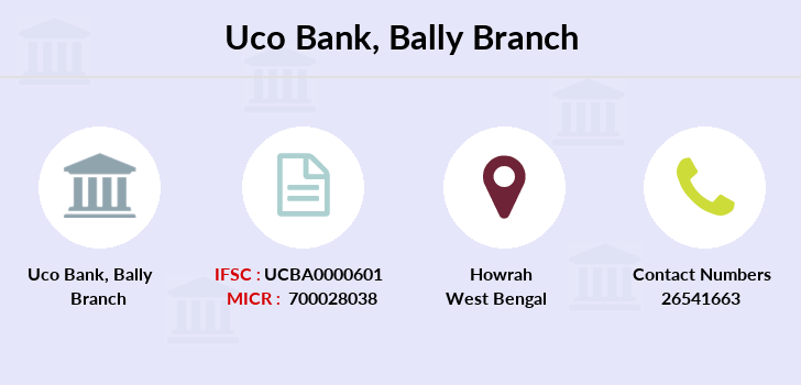Uco-bank Bally branch
