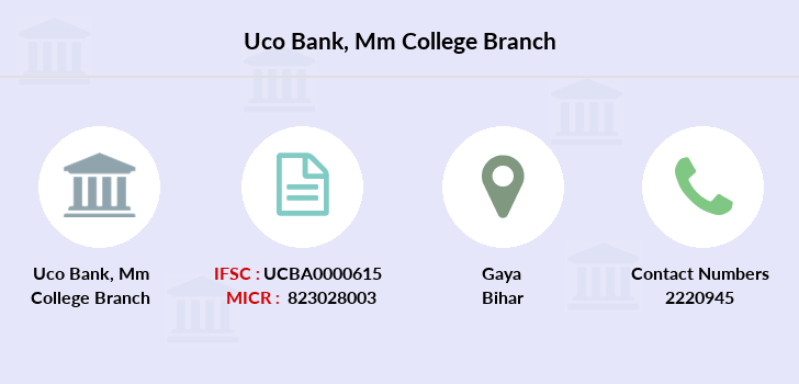 Uco-bank Mm-college branch