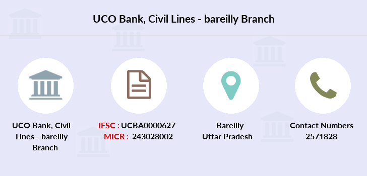 Uco-bank Civil-lines-bareilly branch