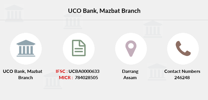 Uco-bank Mazbat branch