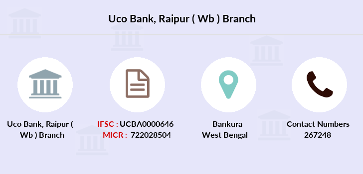 Uco-bank Raipur-wb branch