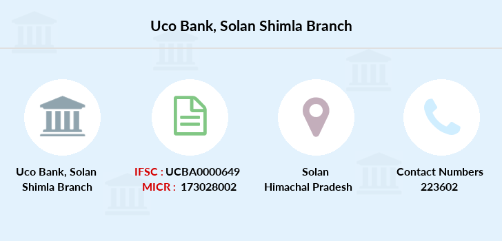 Uco-bank Solan-shimla branch