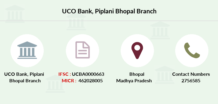 Uco-bank Piplani-bhopal branch