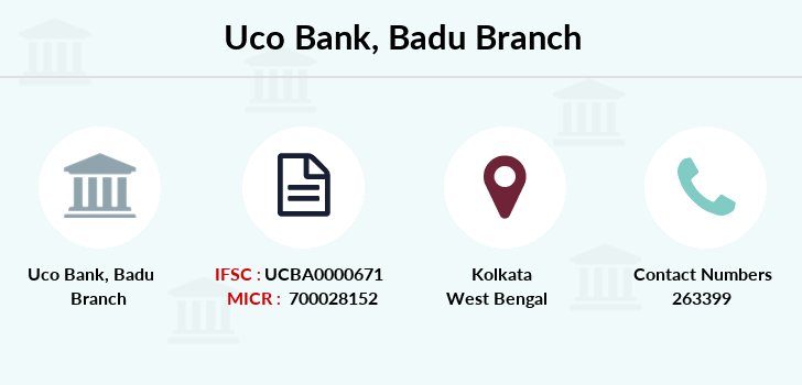 Uco-bank Badu branch