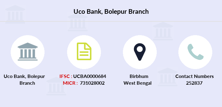 Uco-bank Bolepur branch