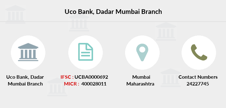 Uco-bank Dadar-mumbai branch