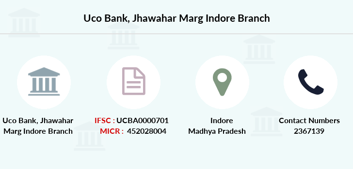 Uco-bank Jhawahar-marg-indore branch