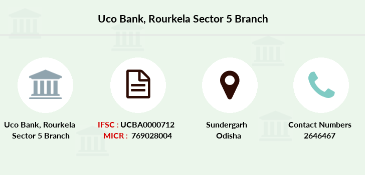 Uco-bank Rourkela-sector-5 branch